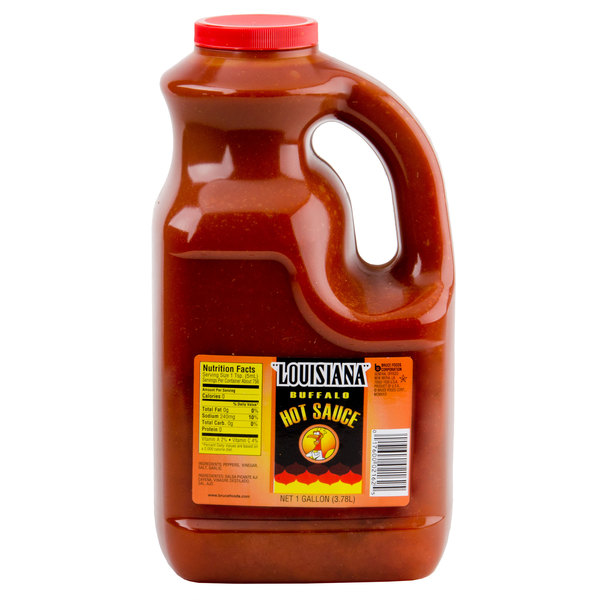 Louisiana 1 Gallon Buffalo Wing Sauce - 4/Case Main Image 1
