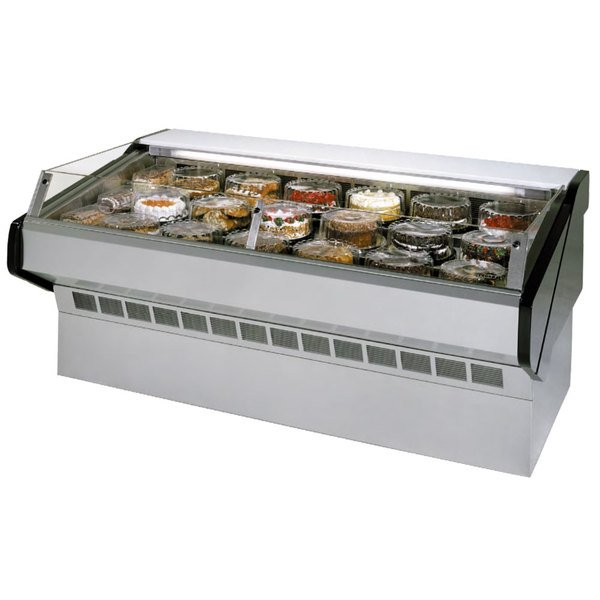 "Federal SQ-6CBSS 72"" Market Series Self-Serve Refrigerated Bakery Case Main Image 1"