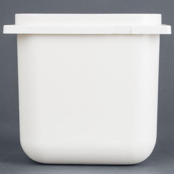 Carlisle 38508 2.5 Qt. White Fountain Jar