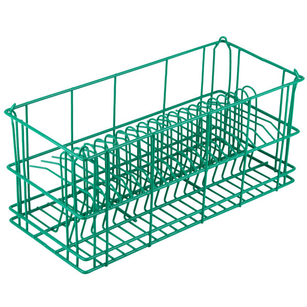 """20 Compartment Catering Plate Rack for Salad Plates up to 7 1/2"""" - Wash, Store, Transport"""