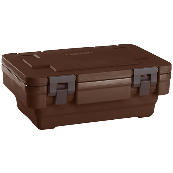 Cambro UPCSS160131 Dark Brown S-Series Stack-and-Store Ultra Pan Carrier®