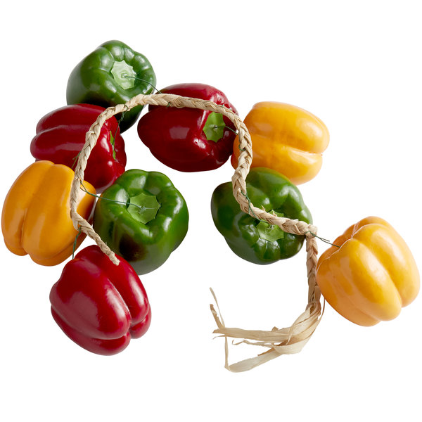 Decorative Bell Peppers on a 12