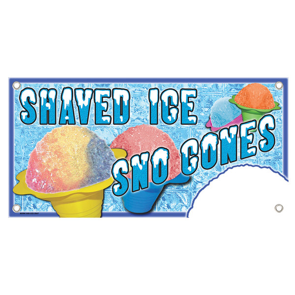 Shaved ice cocession