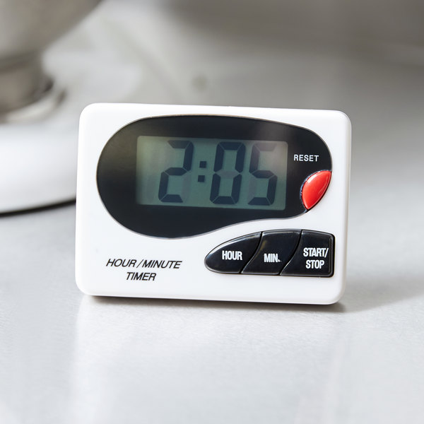 Beautiful Digital Hour / Minute Magnetic Kitchen Timer With Clip