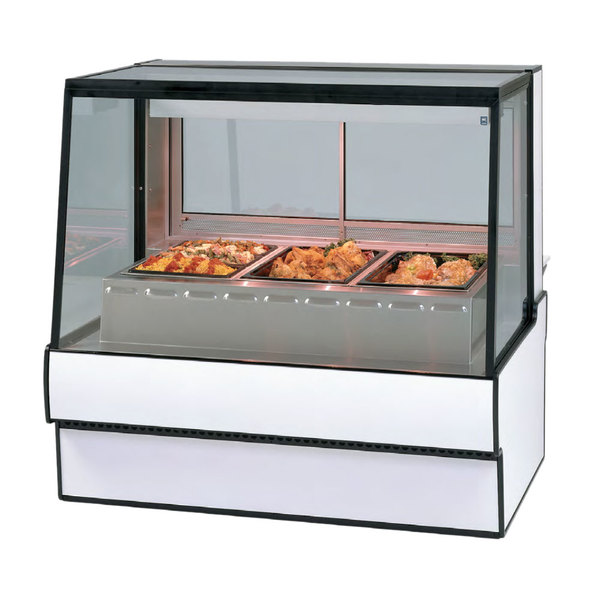 "Federal SG5948HD 59"" Full-Service High-Volume Heated Deli Display Case - 120/208-240V Main Image 1"