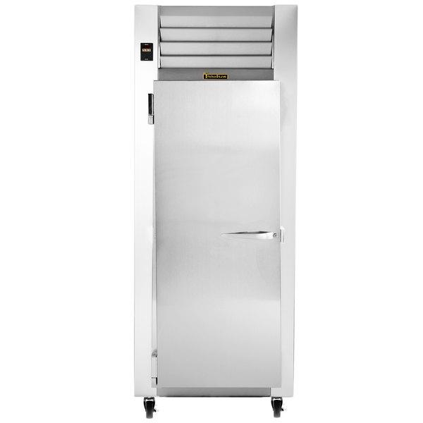"""Traulsen G12011 30"""" G Series One Section Solid Door Reach in Freezer with Left Hinged Door"""