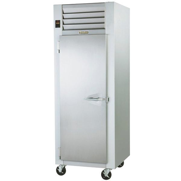 """Traulsen G12011 30"""" G Series One Section Solid Door Reach in Freezer with Left Hinged Door- 24.2 cu. ft."""