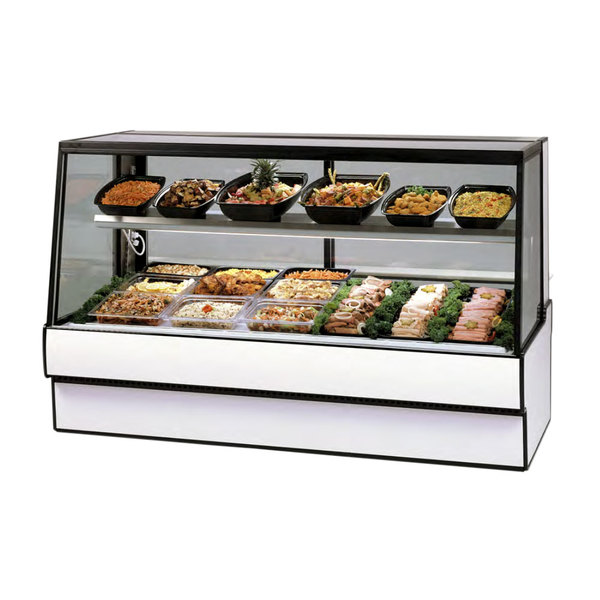 """Federal Industries SGR3648CD 36"""" Full Service Refrigerated Deli Case Main Image 1"""