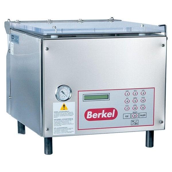 "Berkel 350D-STD Chamber Vacuum Packaging Machine with Two 19"" Seal Bars Main Image 1"