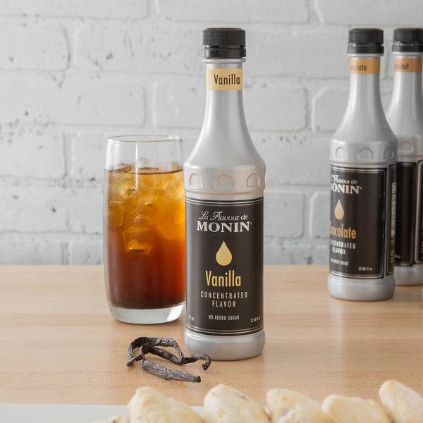 Monin 375 mL Vanilla Concentrated Flavor Main Image 2