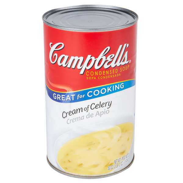 Campbell's 50 oz. Can of Cream of Celery Condensed Soup Main Image 1