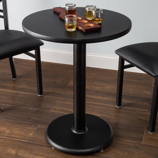 Round Table Top Reversible Cherry, 24 Inch Round Table