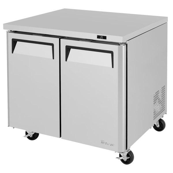 "Turbo Air MUR-36-N6 M3 Series 36"" Undercounter Refrigerator Main Image 1"