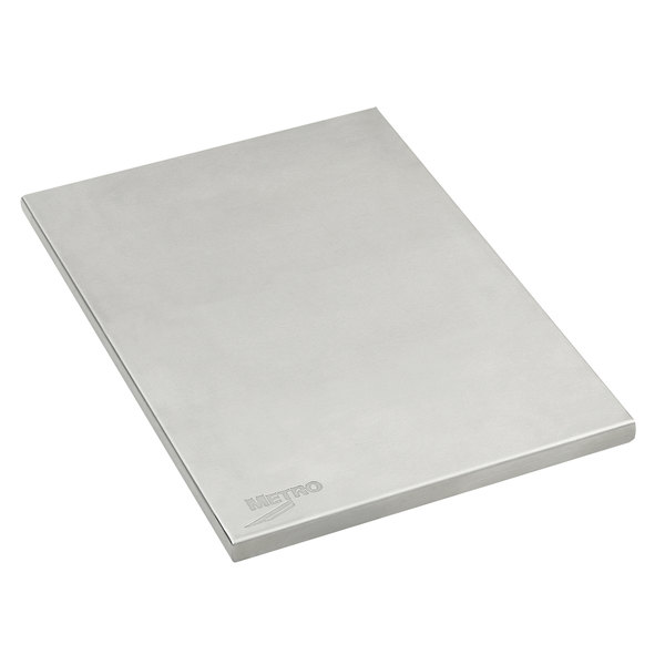 """Metro MS-SW1812 Stainless Steel 18"""" x 12"""" Work Surface for PrepMate MultiStations Main Image 1"""