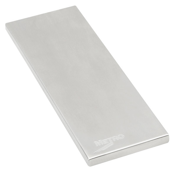 """Metro MS-SW186 Stainless Steel 18"""" x 6"""" Work Surface for PrepMate MultiStations"""