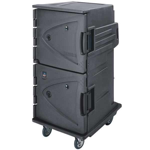 Cambro CMBH1826TBC191 Granite Gray Camtherm Electric Food Holding Cabinet Tall Profile - Hot Only