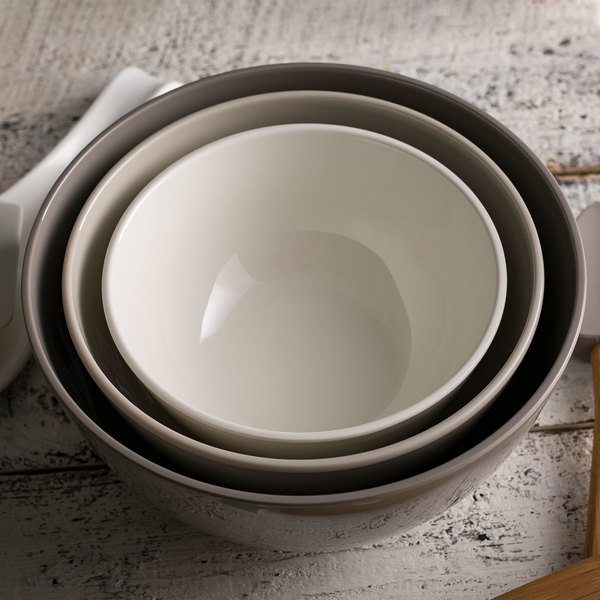 1 Qt 2 QT /& 4 Qt Melamine Tablecraft 700012 Mixing Bowls