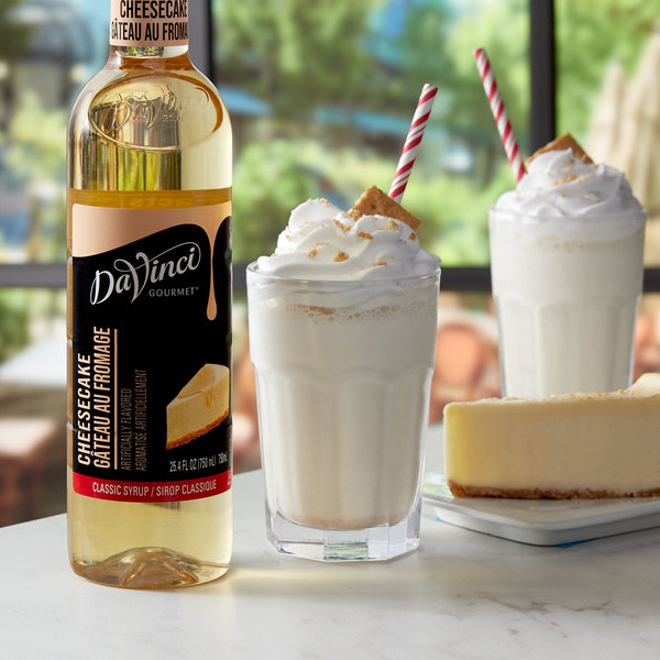 DaVinci Gourmet 750 mL Classic Cheesecake Flavoring Syrup Main Image 2