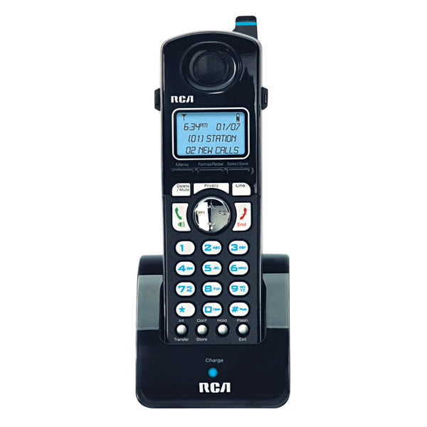 RCA H5401RE1 ViSYS 4 Line Cordless Accessory Handset for 252423RE1, 25424RE1 and 25425RE1 Series