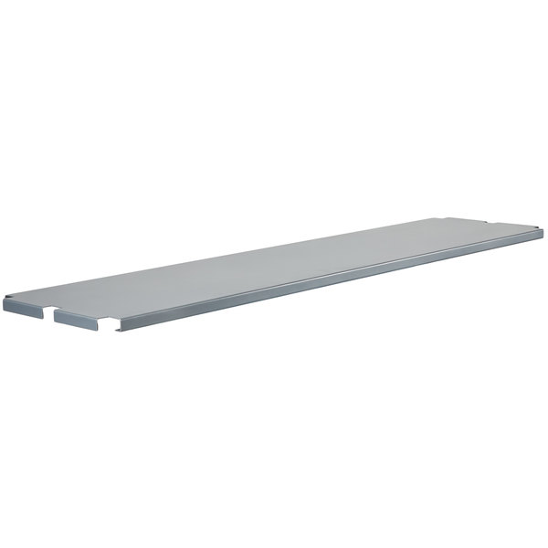 "Regency Universal Removable Steel Shelf for 16"" x 63"" U-Boat Utility Carts Main Image 1"