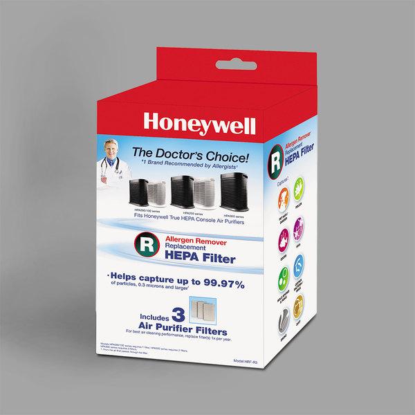 Honeywell HRFR3 HEPA Filter R for Air Purifiers - 3/Pack Main Image 1