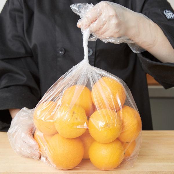"LK Packaging 15G-084018 Plastic Food Bag 8"" x 4"" x 18"" - 1000/Box Main Image 4"