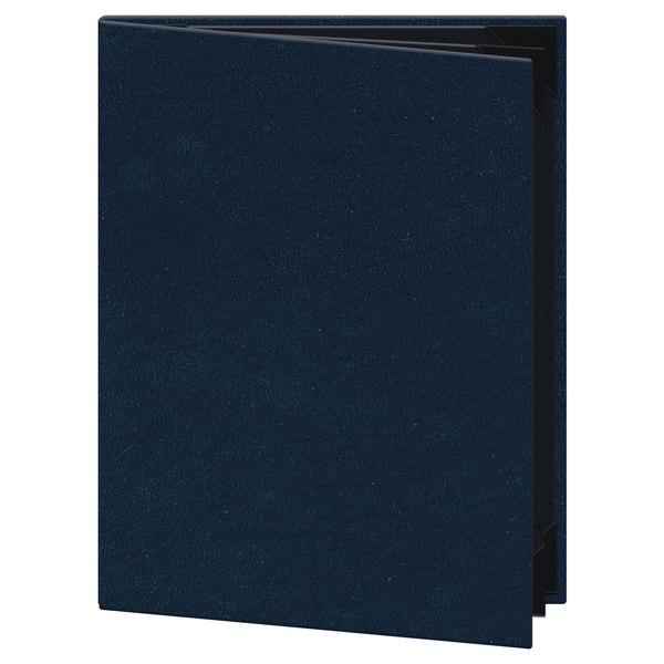 H Risch Inc Om 4v Oakmont 8 12 X 11 4 Panel Blue Menu Cover