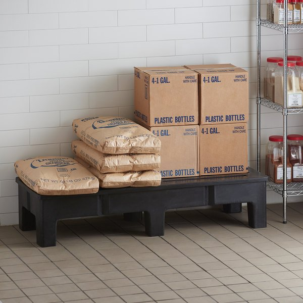"Regency 60"" x 22"" x 12"" Slotted Top Dunnage Rack - 3000 lb. Capacity Main Image 3"