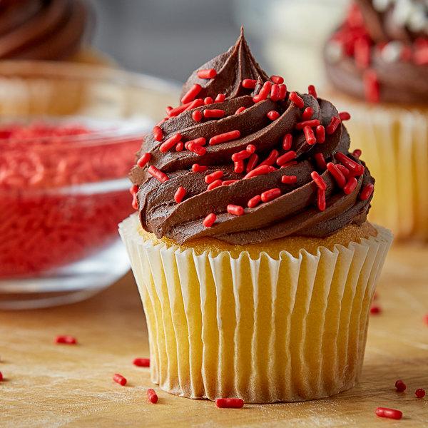Red Sprinkles - 10 lb. Main Image 2