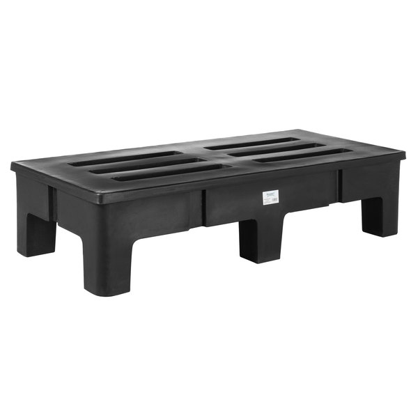 Regency 48 inch x 22 inch x 12 inch Slotted Top Dunnage Rack - 2500 lb. Capacity