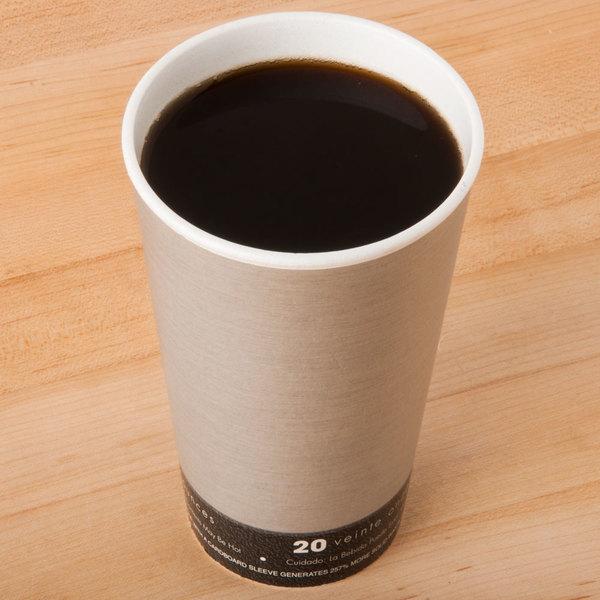 Dart 20U16FS Fusion Steele 20 oz. Foam Hot Cup - 500/Case