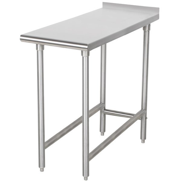 "Advance Tabco TFMS-153 15"" x 36"" Equipment Filler Table"