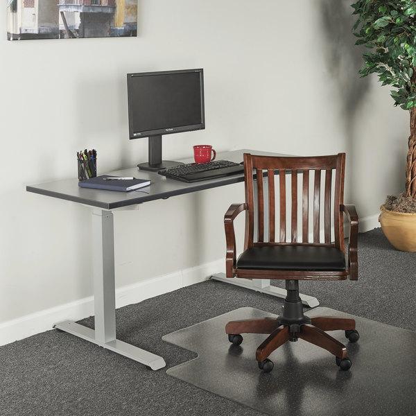 Alera Alepc4299c Postal Series Cherry Wood Slat Back Office Chair