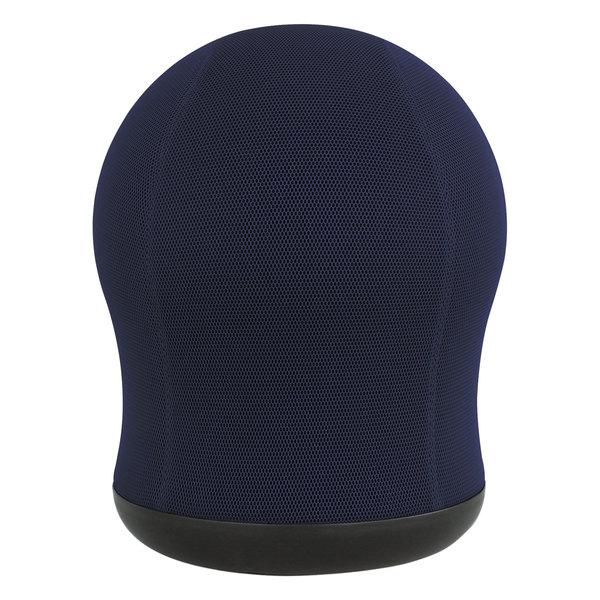 Safco 4760BU Zenergy Blue Mesh Swivel Ball Chair Main Image 1