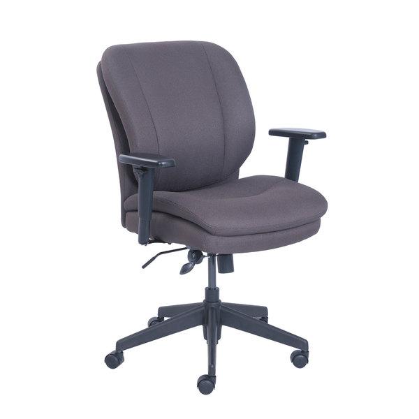 Serta 48967B SertaPedic Cosset Gray Fabric Swivel / Tilt Office Chair Main Image 1