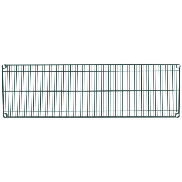 "Metro 1860N-DSG Super Erecta Smoked Glass Wire Shelf - 18"" x 60"""
