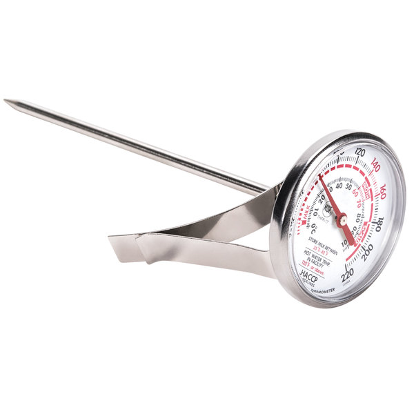 NEW Stainless Steel Milk Frothing Thermometer Coffee Thermometer