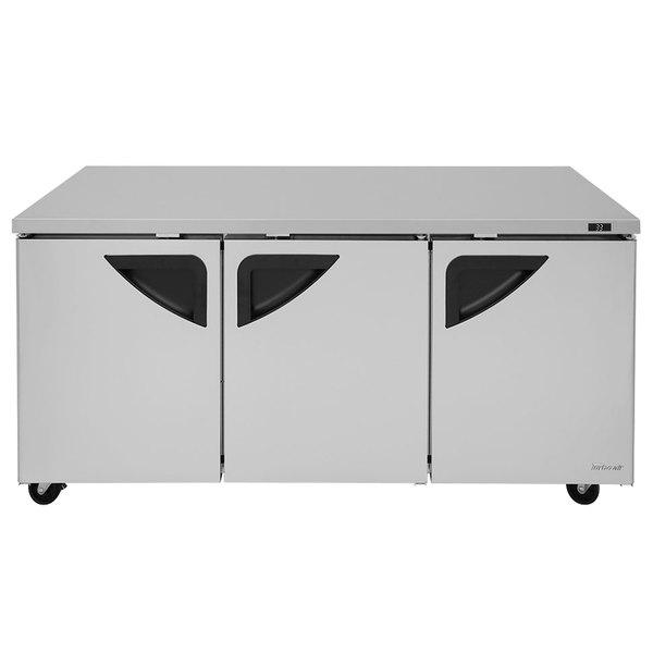"""Turbo Air TUR-72SD Super Deluxe 72"""" Undercounter Refrigerator"""
