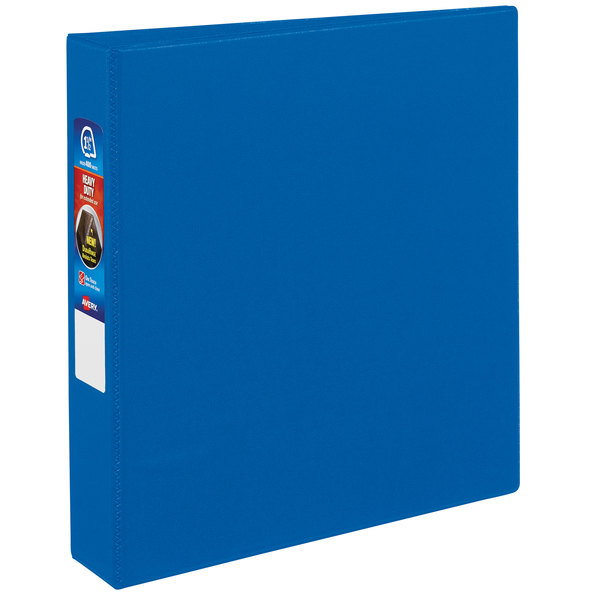 """Avery 79885 Blue Heavy-Duty Non-View Binder with 1 1/2"""" Locking One Touch EZD Rings Main Image 1"""
