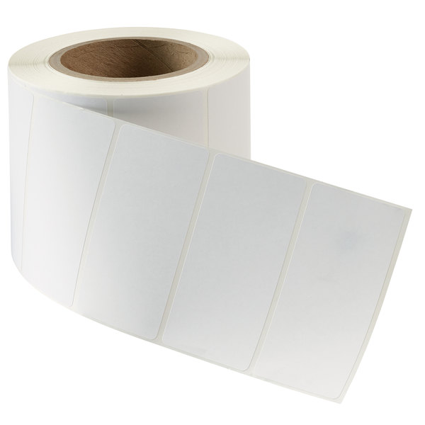 """Avery 04133 4""""x 2"""" White Industrial Direct Thermal Label, 1000 Count Roll - 2/Box"""
