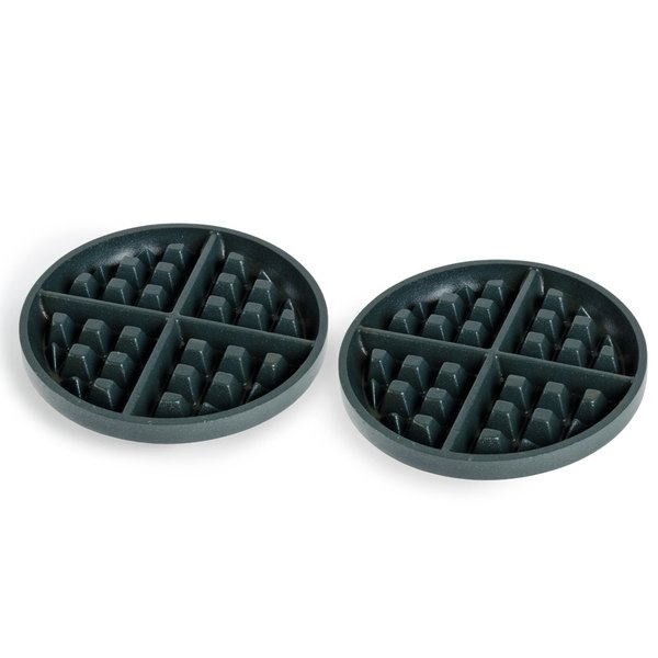 """Nemco 77277-S 7"""" Iron Grid Set for 7020-1S Series Waffle Makers"""