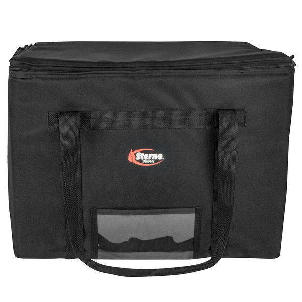 """Sterno Products 70515 Catering Space Saver 24"""" x 16"""" x 17 3/4"""" XL Insulated Food Carrier - Holds (4) Full Size Food Pans"""