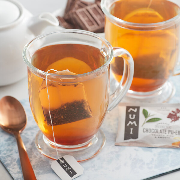 Numi Organic Chocolate Pu-Erh Tea Bags - 16/Box Main Image 3