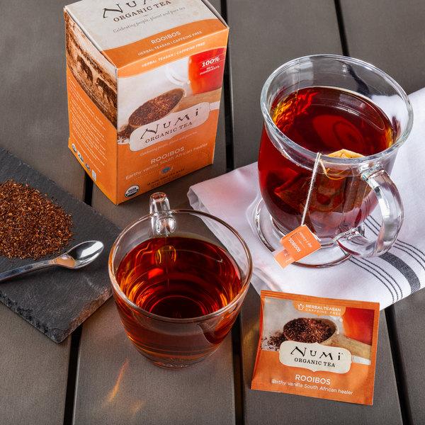 Numi Organic Rooibos Tea Bags - 18/Box