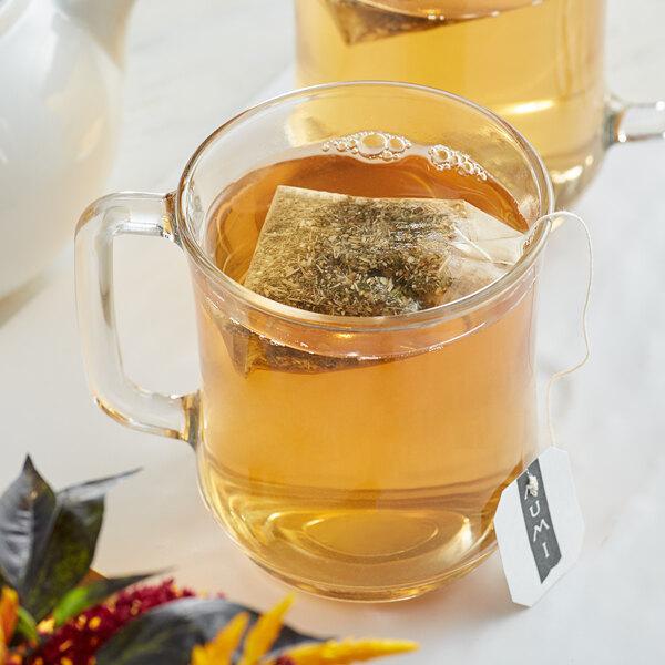 Numi Organic Decaf Ginger Lemon Tea Bags - 100/Case Main Image 2