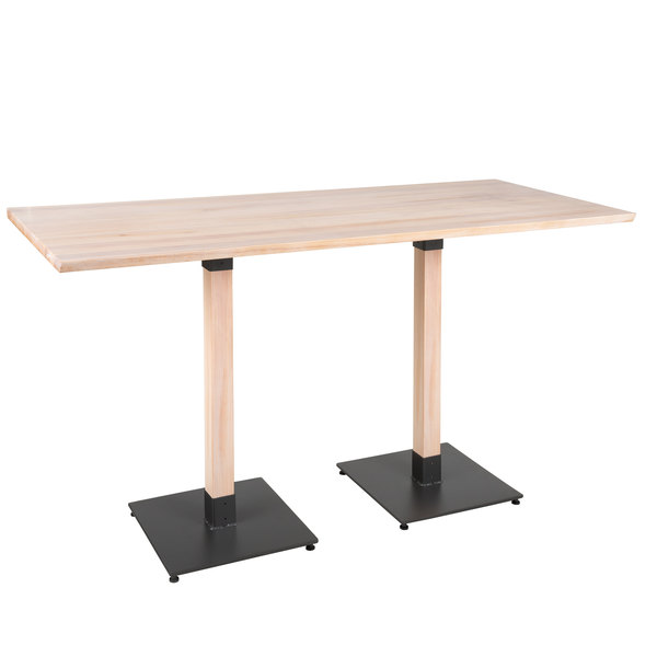 """Lancaster Table & Seating 30"""" X 72"""" Solid Wood Live Edge"""