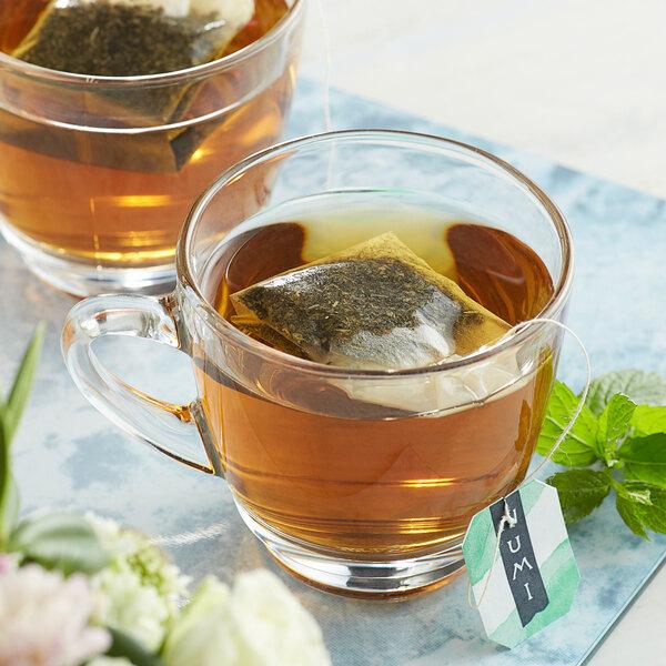 Numi Organic Moroccan Mint Herbal Tea Bags - 100/Case Main Image 3