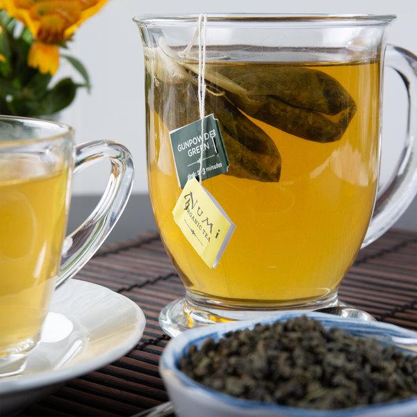 Numi Organic Gunpowder Green Tea Bags - 18/Box Main Image 2