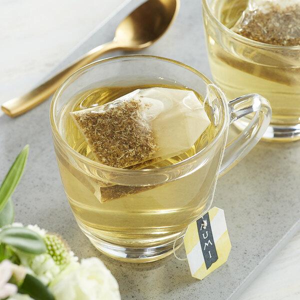 Numi Organic Chamomile Lemon Herbal Tea Bags - 100/Case Main Image 3