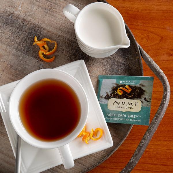 Numi Organic Aged Earl Grey Tea Bags - 100/Case Main Image 4